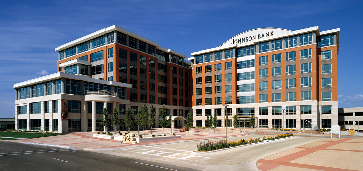 Entire front of the Tri-North Builders project at City Center West in Madison, WI.