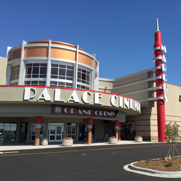 Tri-North Builders project at the Palace Cinema movie theater in Sun Prairie, WI.