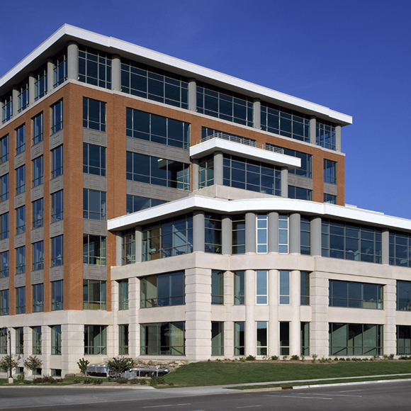 Front of the TDS building in Wisconsin which was a Tri-North Builders construction project.