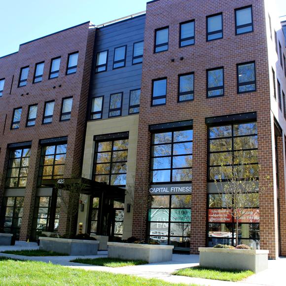 Tri-North Builders remodel project at the Washington Plaza apartment complex in Madison, WI.