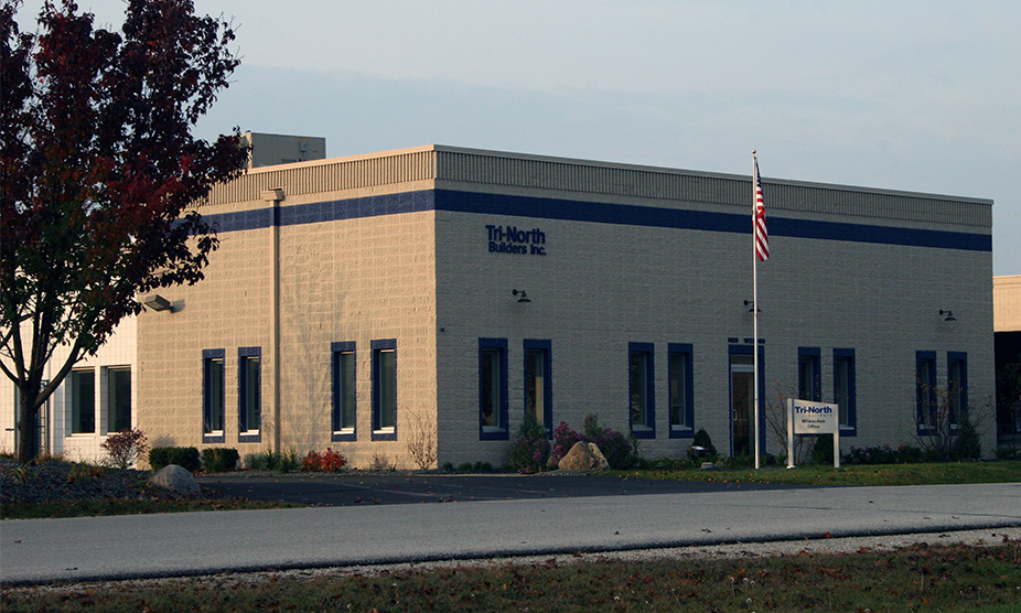 The Milwaukee branch of Tri-North opened in this industrial office building in 1996.